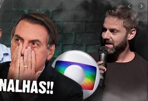 Fabio Rabin detonou Bolsonaro e gerou revolta (Foto: Reprodução/ Globo)