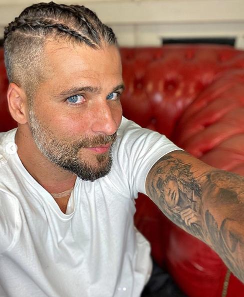 Bruno Gagliasso e seu novo visual (Foto: Reprodução/ Instagram)