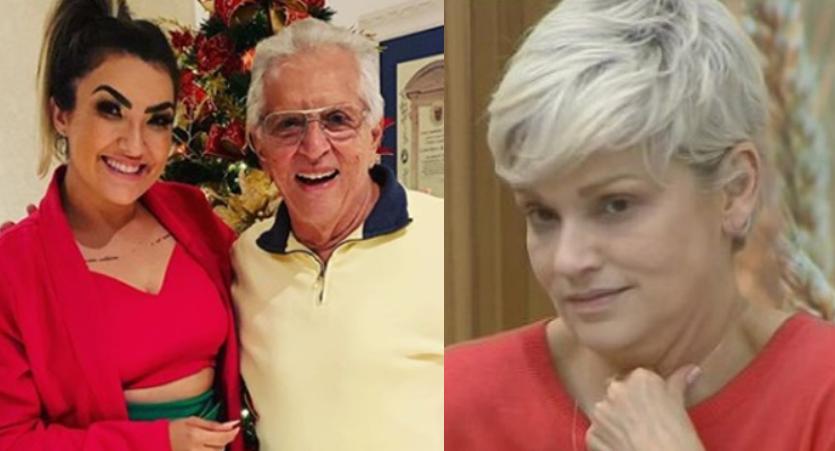 Carlos Alberto convida Thayse Teixeira, a grande inimiga de sua ex Andréa de Nóbrega (Foto: Reprodução)