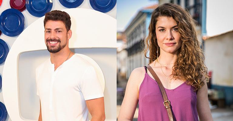 Cauã Reymond vai contracenar com a ex-namorada, Alinne Moraes, em nova novela Foto:Globo