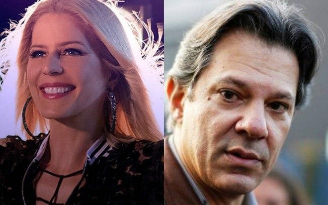 A cantora Paula Toller, abriu um processo contra seu ex-namorado e também contra Fernando Haddad por uso de música sem sua permissão (Foto: Reprodução)
