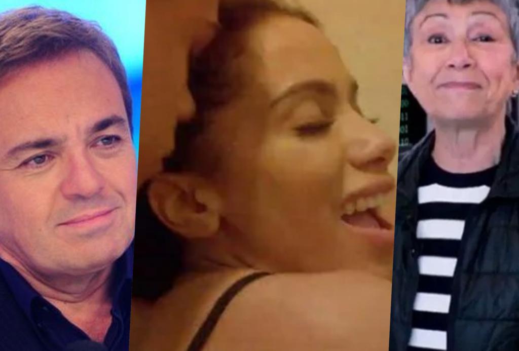 Gugu, Anitta e Sandra Passarinho estão nas notícias mais lidas do dia do TV Foco (Foto montagem: TV Foco)