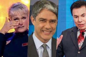 Xuxa, William Bonner e Silvio Santos foram destaques nas previsões das sensitivas para 2020 (Foto reprodução)