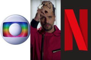 Globo e Netflix travam disputa debochada após saída de Bruno Gagliasso. Foto: Reprodução