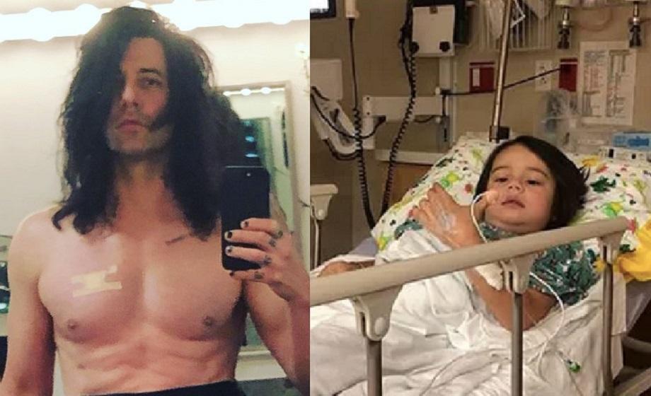 Filho de Criss Angel, Johnny Christopher, está com câncer
