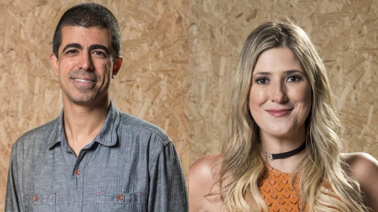 globo Marcius Melhem e Dani Calabresa (Foto: Divulgação/TV Globo/Montagem TV Foco)