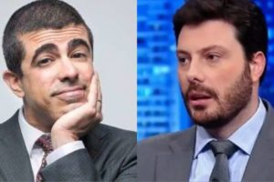 Marcius Melhem e Danilo Gentili (Foto: Reprodução)