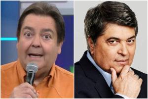 Faustão mencionou Datena em seu programa na Globo