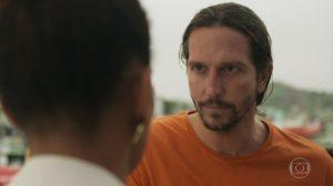 Davi (Vladimir Brichta) em cena de Amor de Mãe (Foto: Reprodução/TV Globo)