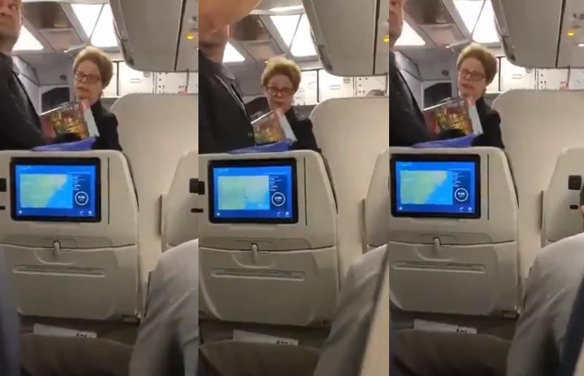 Dilma Rousseff que fez sucesso nas redes sociais (Foto: Reprodução)