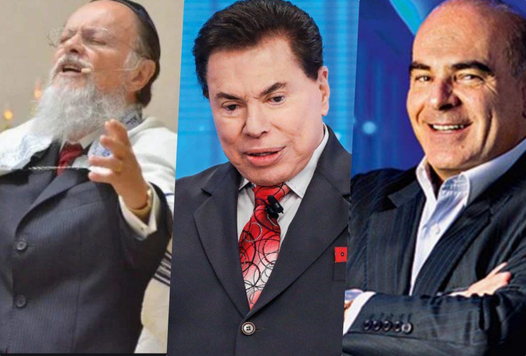 Edir Macedo, Silvio santos e Marcelo de Carvalho são donos respectivamente da Record, SBT e RedeTV! (Foto reprodução) Globo e Band