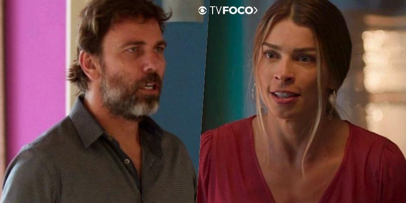 Paloma ataca Elias após se livrar dele em Bom Sucesso