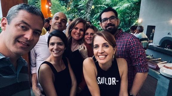 Equipe do Fantástico se reúne para confraternização (Imagem: Instagram)