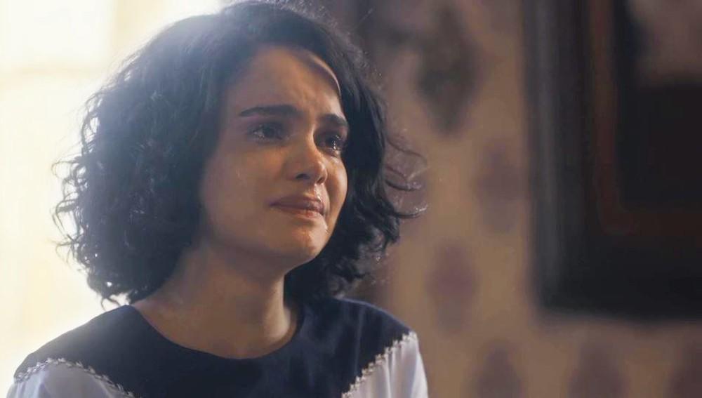 Inês (Carol Macedo) brigará com Carlos em Éramos Seis (Foto: Reprodução/Globo)