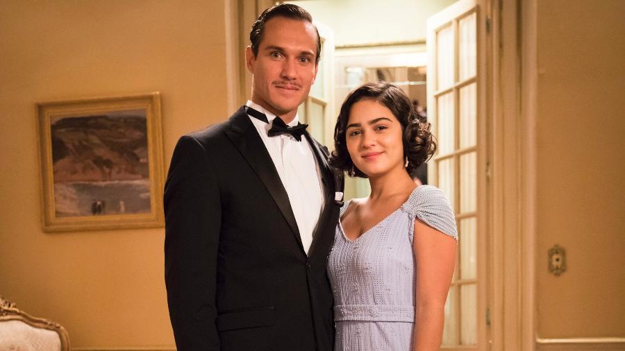 Isabel, personagem de Giullia Buscacio, irá se envolver com homem desquitado em Éramos Seis da Globo (Imagem: Divulgação)