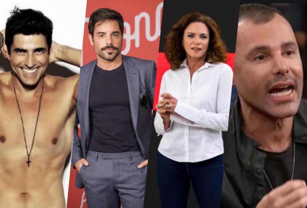 Famosos como Reynaldo Gianecchini, Pedro Carvalho, Leilane e Rodrigo Santana foram alguns que saíram do armário em 2019 (Foto reprodução)