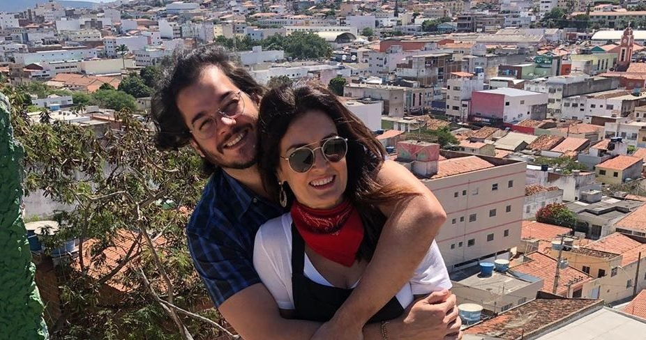 A famosa apresentadora da Globo, Fátima Bernardes e seu namorado, Túlio Gadêlha (Reprodução/Instagram)