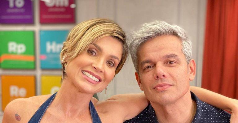 Flávia Alessandra e Otaviano Costa são casados há 13 anos (Foto: Reprodução)