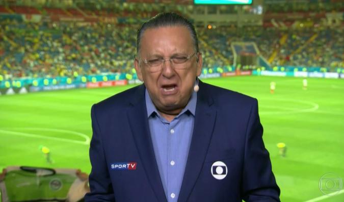 Galvão Bueno é o principal narrador esportivo da Globo (foto: reprodução)