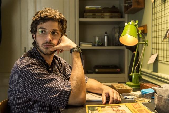 Danilo (Chay Suede) na novela das nove da Globo (Foto: Estevam Avellar/Globo)