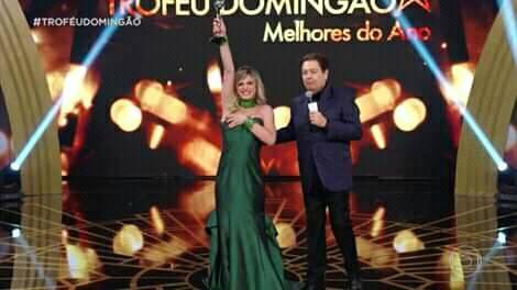 Glamour Garcia venceu como Atriz Revelação. Foto: Reprodução Globo
