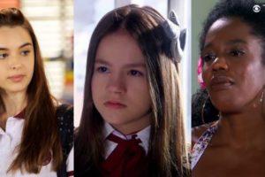 Gleyce, Filipa, Raquel são personagens de As Aventuras de Poliana do SBT