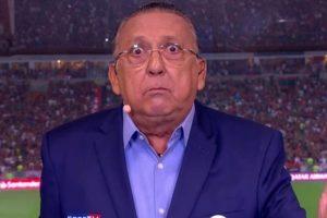 Depois de não poder narrar a final da Libertadores por conta de um infarto, Galvão Bueno narrará Flamengo no Mundial. Foto: Reprodução