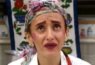 A personagem Filó, interpretada por Gorete Milagres. Foto: Reprodução