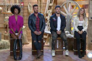 Hariany e Lucas permanecem, Rodrigo e Sabrina são eliminados (Foto: Reprodução)