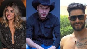 Hariany, Lucas e Diego já foram expulsos de realities (Foto: Reprodução)
