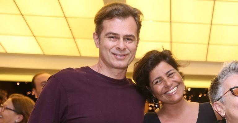 João Vitti e Valéria Alencar (Foto: Anderson Borde/AgNews)