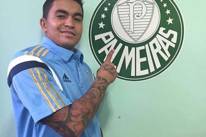O jogador Dudu, do Palmeiras, estaria traindo a esposa famoso (Reprodução: Instagram)