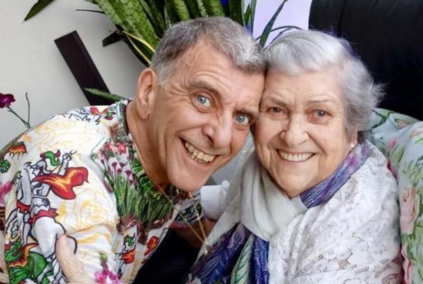 O ator Jorge Fernando e a atriz Hilda Hebello (Foto: Reprodução)