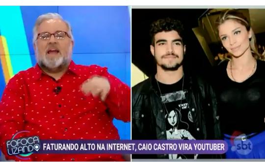Leão Lobo contou verdadeiro motivo de Caio Castro e Grazi Massafera não assumirem romance (Foto: Reprodução)
