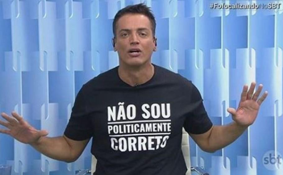 O jornalista Leo Dias surpreendeu ao falar sobre sua ida para a RedeTV! (Foto: Reprodução)