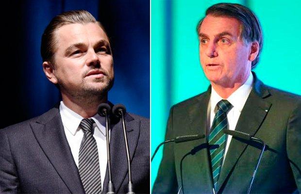 Leonardo DiCaprio responde Bolsonaro depois de acusações sobre os incêndios na Amazônia (Foto: Reprodução)
