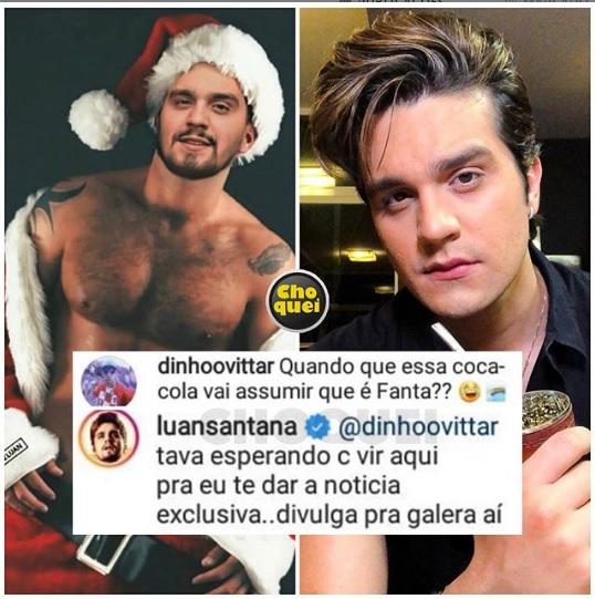 Pela primeira vez, Luan Santana fala abertamente sobre ser gay e se assume publicamente - Foto: reprodução Instagram