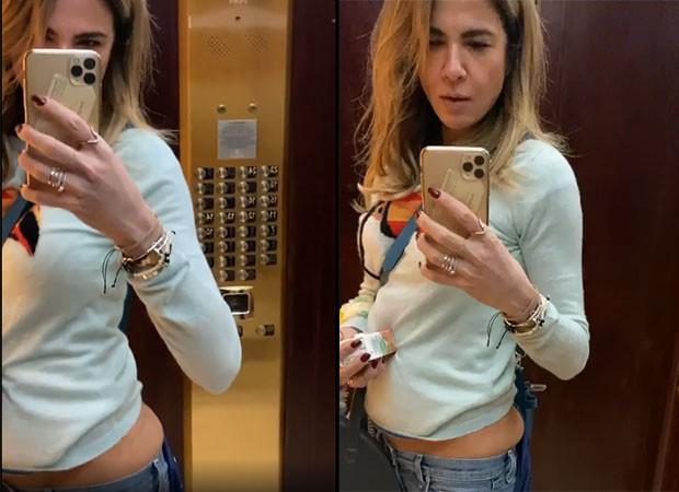 Luciana Gimenez exibiu umas fotos de seu corpo com algumas 'gordurinhas' (Foto: Reprodução/ Instagram)