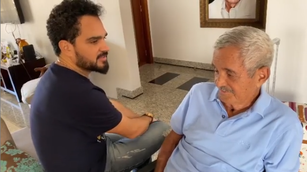 Luciano, da dupla com Zezé di Camargo, e Francisco (Foto: Reprodução)