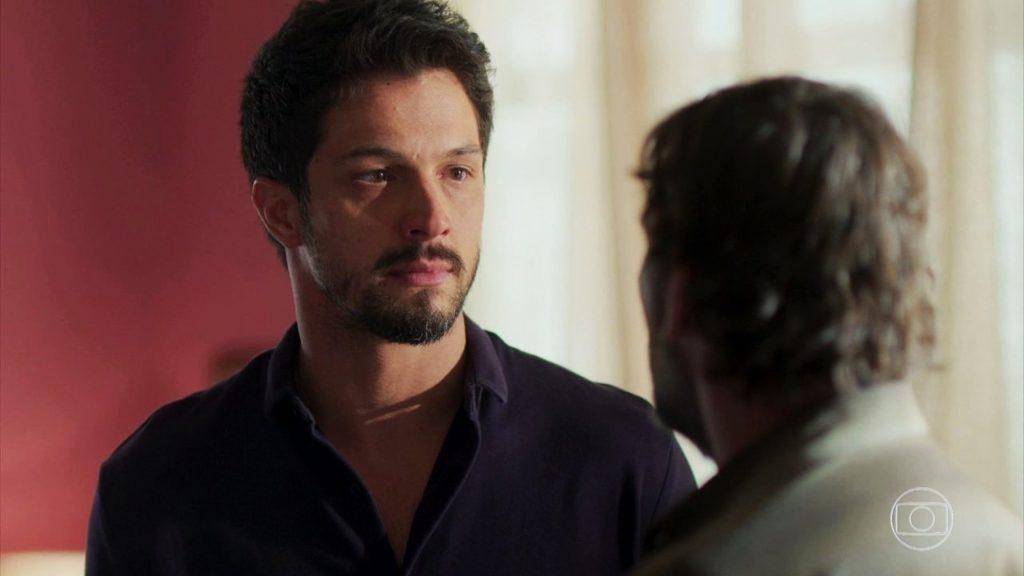Marcos em cena de Bom Sucesso na Globo