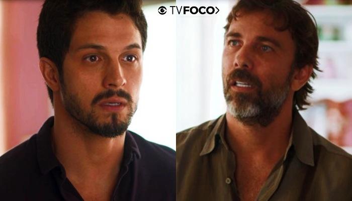 Marcos fica indignado com ex de sua namorada em Bom Sucesso em foto montagem do site TV Foco