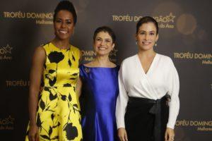 Renata Vasconcellos, Sandra Annenberg e Maju Coutinho