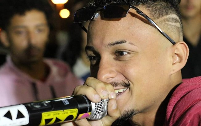 MC Mineirinho era um rapper bastante conhecido nas rodas de rimas de São Paulo (Foto: Reprodução)