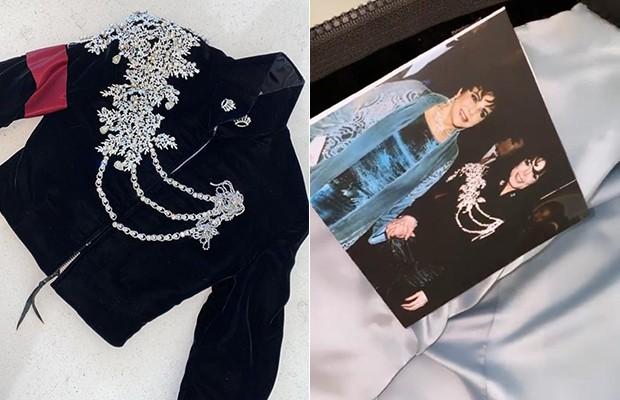 Jaqueta que pertenceu a Michael Jackson (Foto: Reprodução/Instagram)