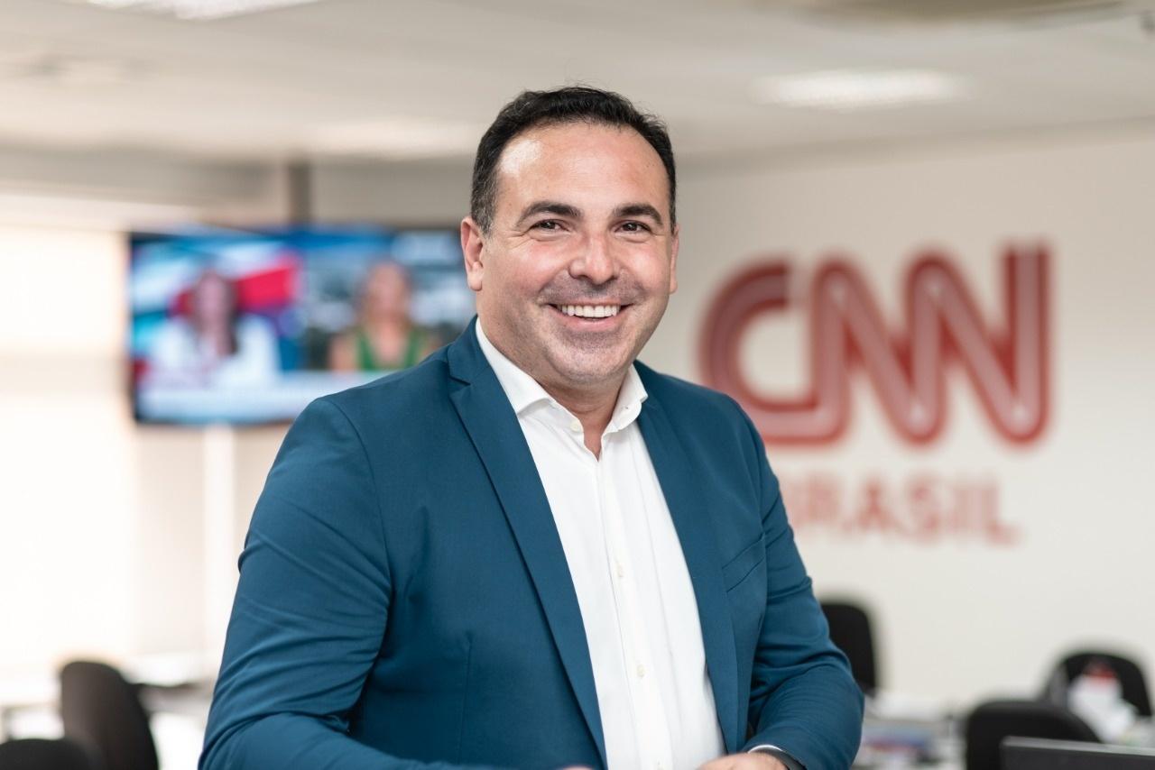 Reinaldo Gottino terá destaque no horário nobre do novo canal (foto: divulgação/CNN Brasil)