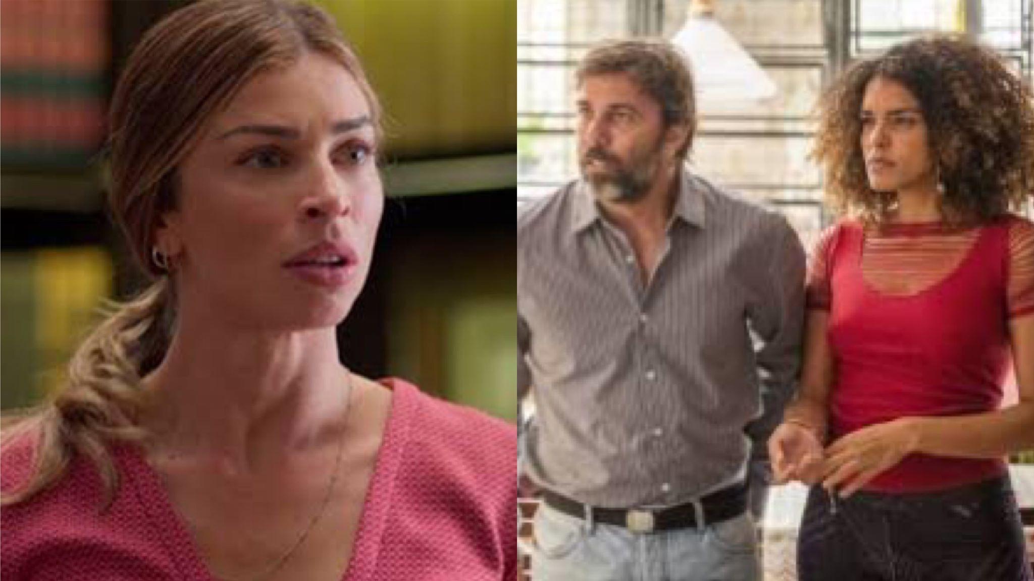 Em Bom Sucesso da Globo, Paloma será atacada por Rosemary, a atual mulher de Elias (Montagem: TV Foco)