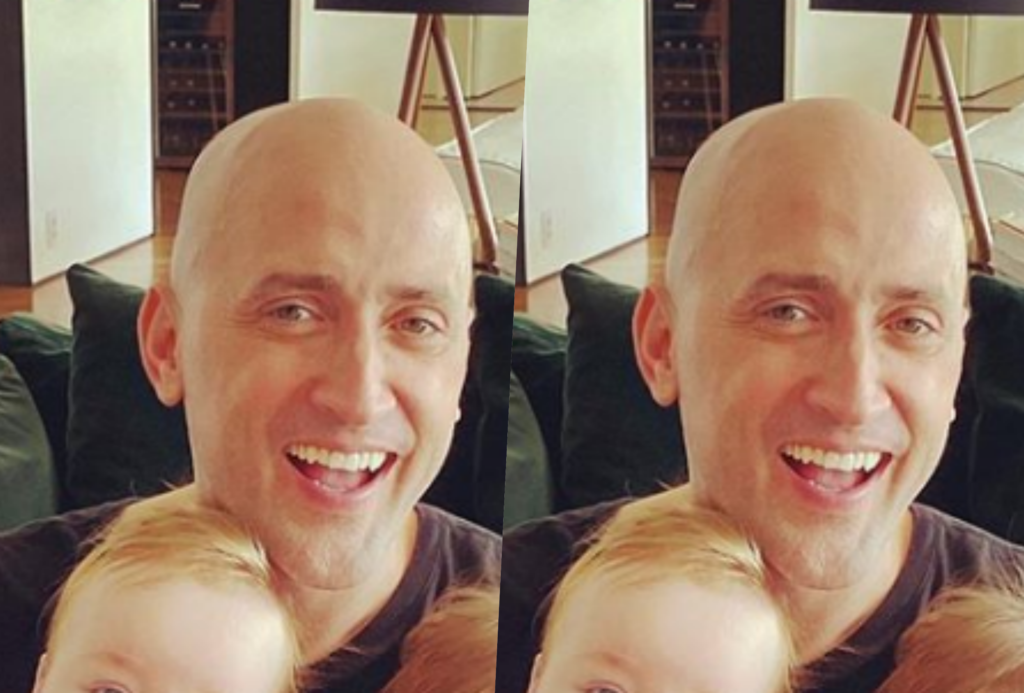Paulo Gustavo usou o Natal e mostrou o rosto dos dois filhos gêmeos (Foto reprodução)