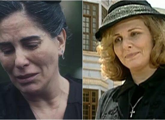 Gloria Pires estrela versão de Éramos Seis na Globo; versão do SBT foi protagonizada por Irene Ravache. (Foto: Montagem/Reprodução)