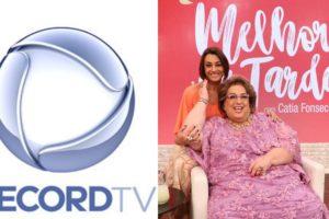 Record amarga 3º lugar no ranking de audiência e Melhor da Tarde explode com exclusiva sobre Mamma Bruschetta. Foto: Reprodução
