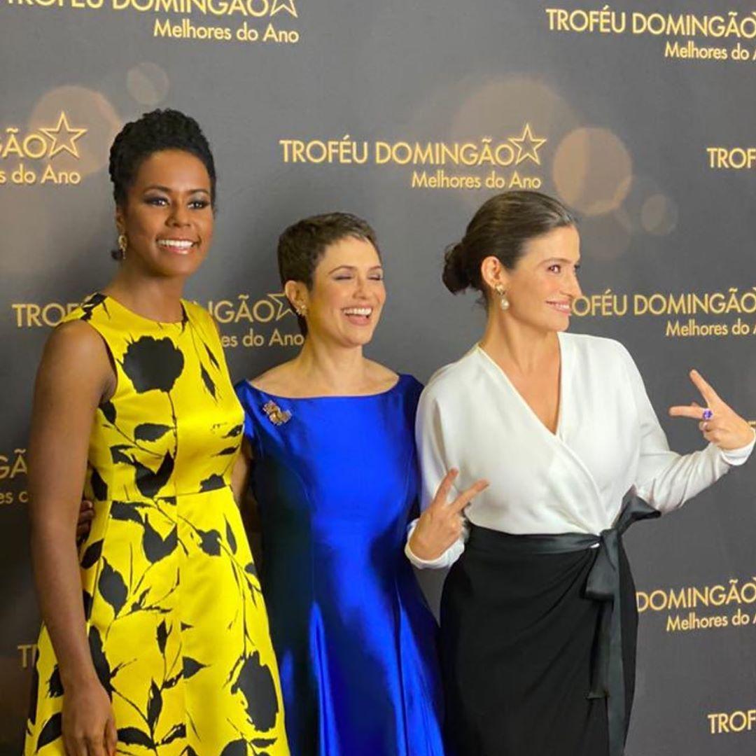 globo Renata Vasconcellos concorreu ao lado de Sandra Annenberg e Maju Coutinho (Foto: Reprodução/Instagram)